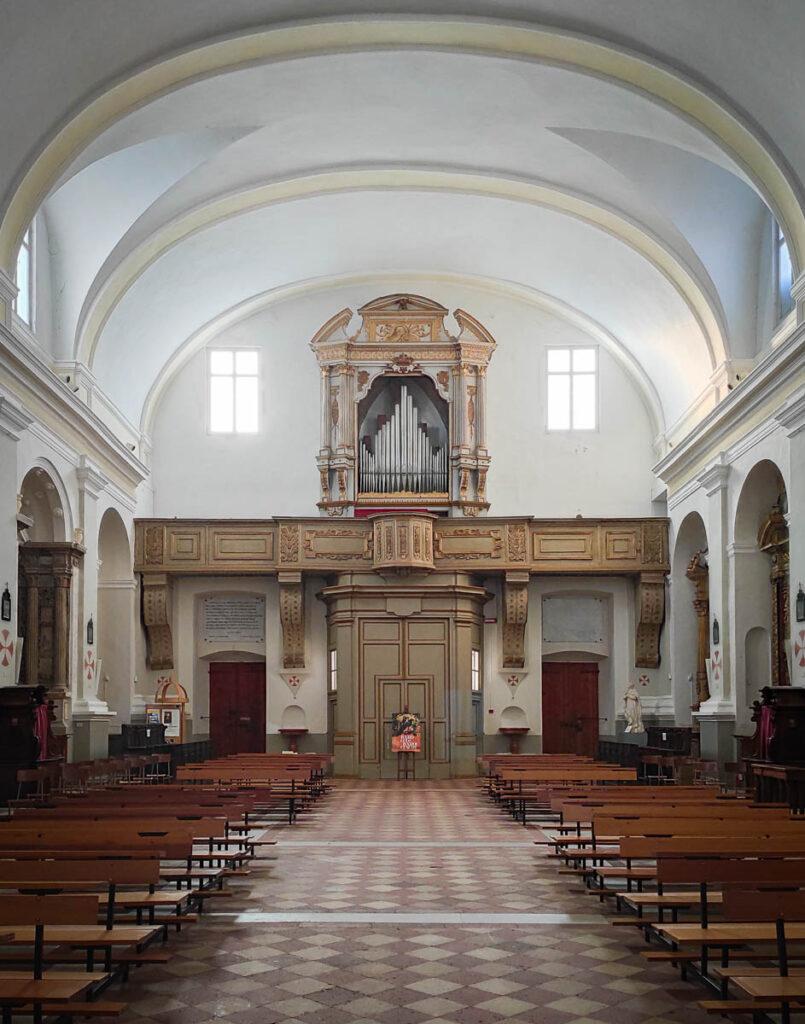 Interno dell Chiesa Monumentale Sant' Agostino di Mondolfo