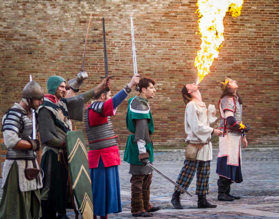 Palio San Floriano, Festa Medievale