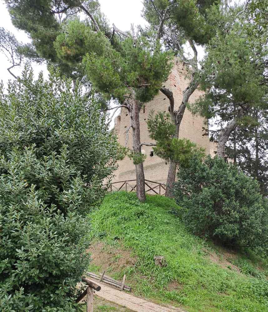 Rocca Tiepolo, il castello che sovrasta Porto San Giorgio