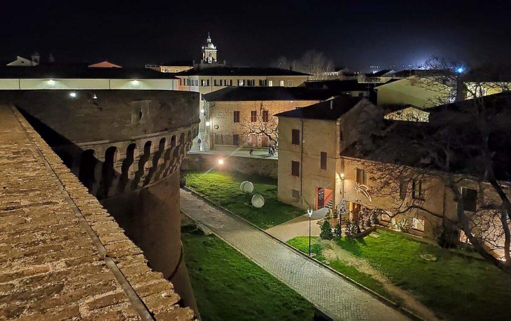 centro storico senigallia dalla rocca roveresca