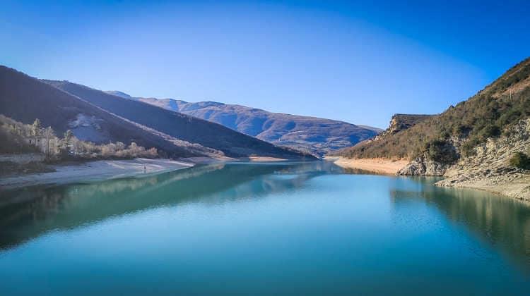 Lago di Fiastra, cosa vedere