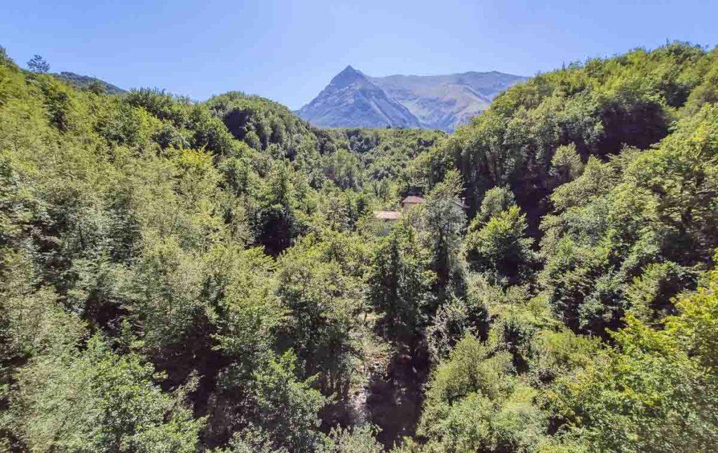 Montegallo, sentiero dei mulini