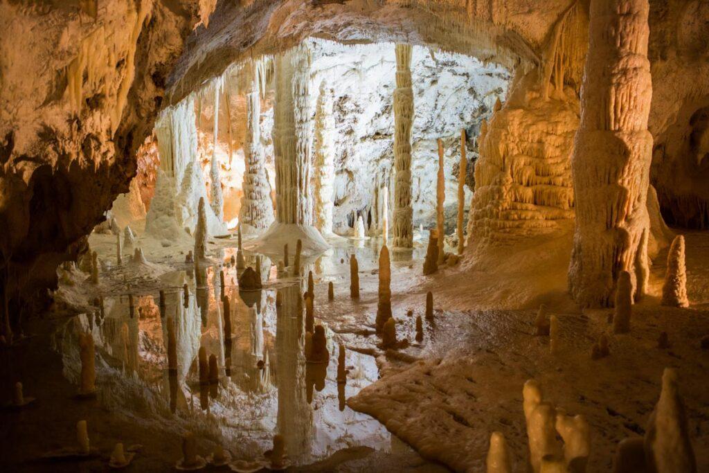 interno Grotte di Frasassi
