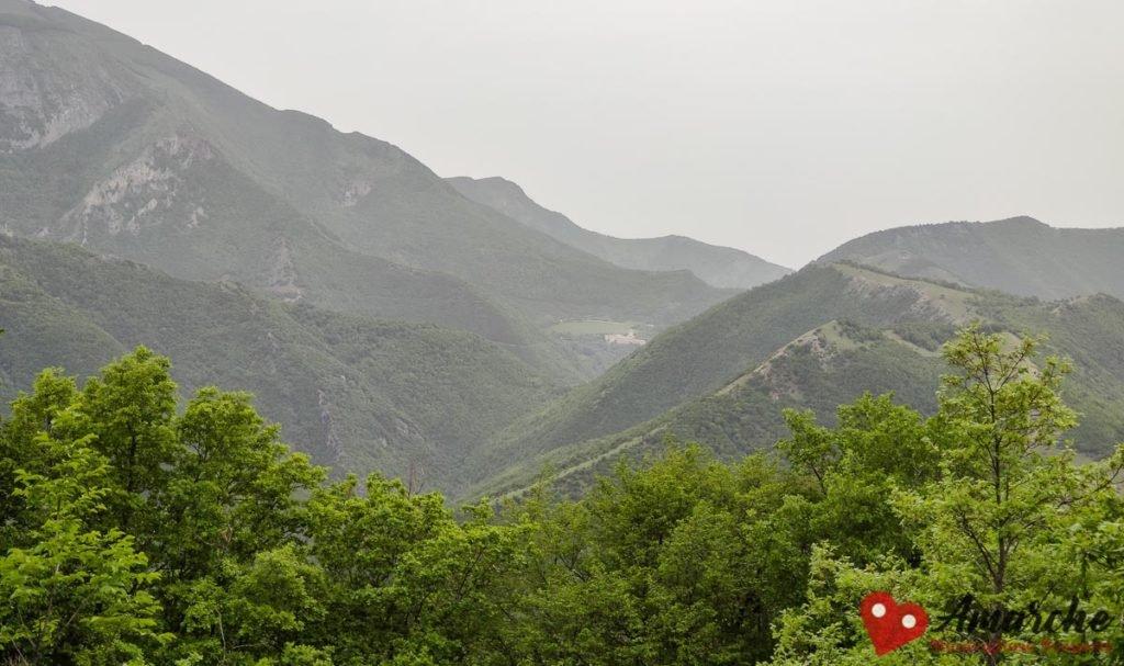 trekking, percorso Parco Daini - Abbadia di Sitria